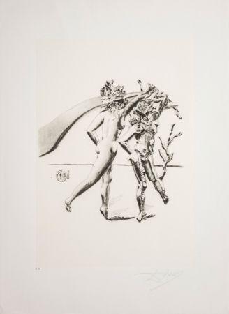 Литография Dali - La Danza