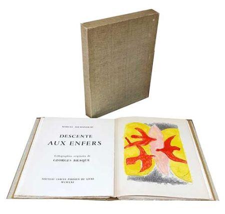 Иллюстрированная Книга Braque - La descente aux enfers