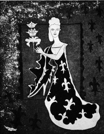 Офорт Haz - La duchessa di Guermantes