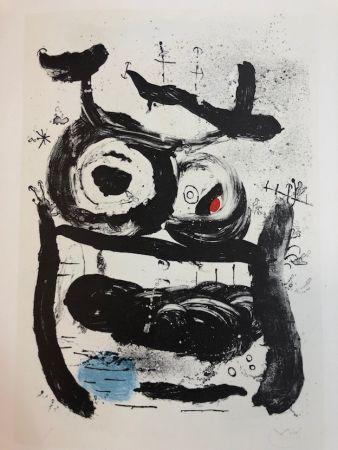 Литография Miró - La Emperatriz