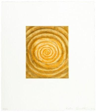 Гравюра Santibañez - La espiral caprichosa