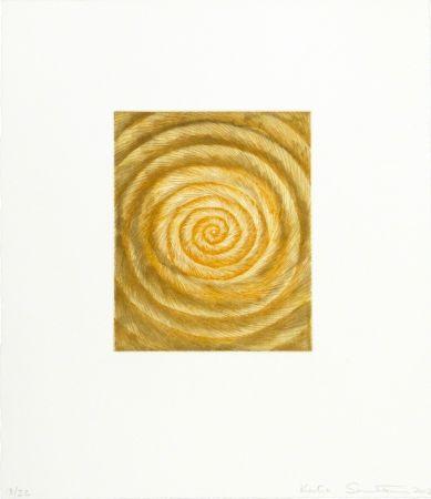 Офорт И Аквитанта Santibañez - La espiral caprichosa