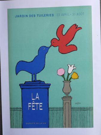 Афиша Savignac - La fête au jardin des Tuileries