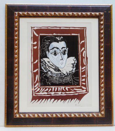 Литография Picasso - La Femme A La Fraise