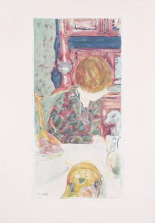 Акватинта Bonnard - La Femme au chien