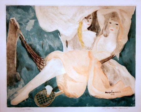 Акватинта Laurencin - La Femme au Hamac
