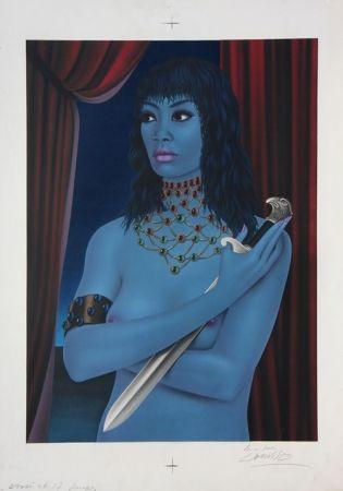 Литография Labisse - La Femme avec un Couteau (BAT) - Woman with a Dagger