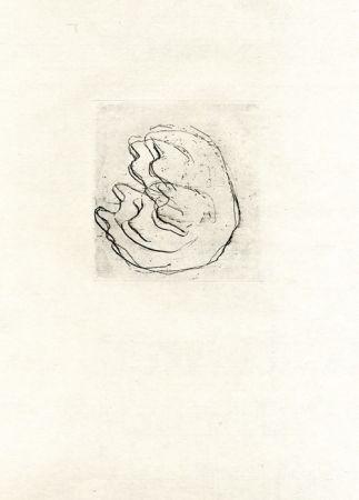 Офорт Fautrier - La femmes aux seins