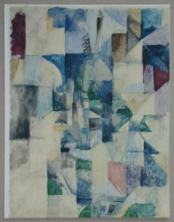 Трафарет Delaunay - La fenêtre n°2