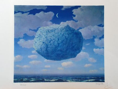 Литография Magritte - La Flèche de Zénon