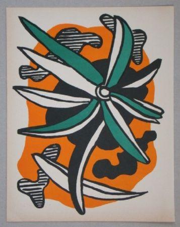 Литография Leger - La Fleur