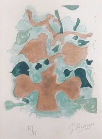 Литография Braque - La Forêt