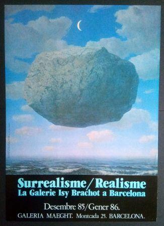 Афиша Magritte - LA GALERIE ISY BRACHOT A BARCELONA - MAEGHT 1986