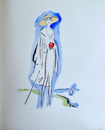Трафарет Van Dongen - La Garconne, Woman with cane