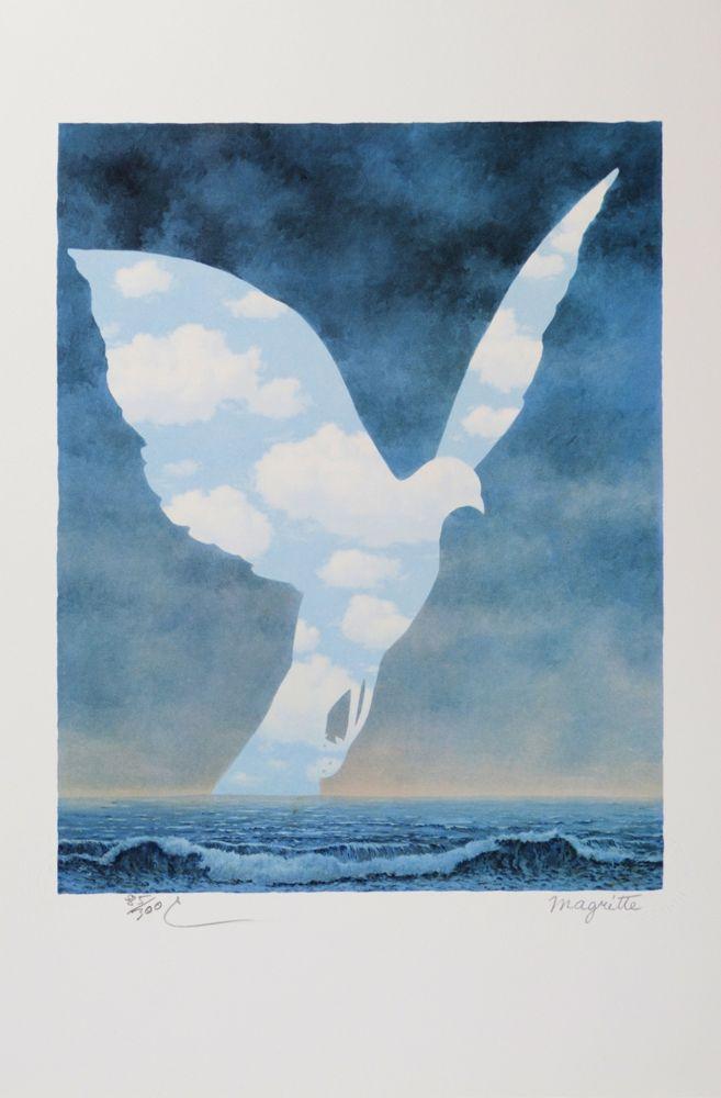 Литография Magritte - La Grande Famille