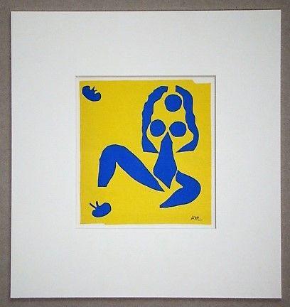 Литография Matisse - La grenouille