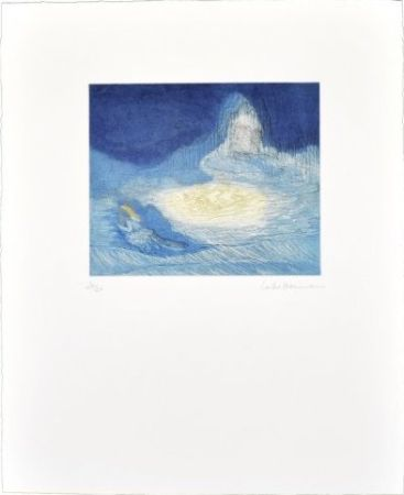 Многоэкземплярное Произведение Ikemura - La huida de los montes azules