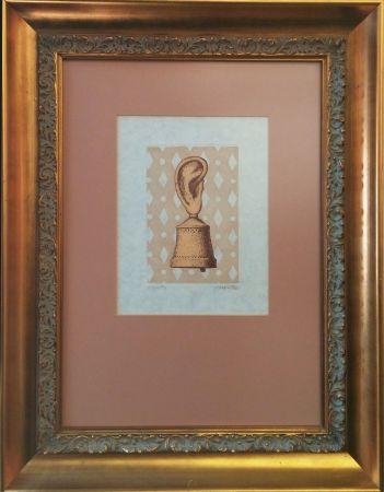 Гравюра Magritte - LA LECON DE MUSIQUE