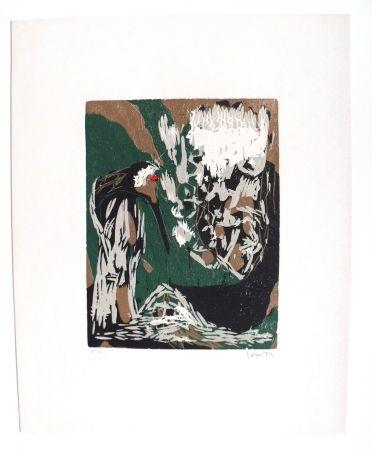Гравюра На Дереве Jorn - La Mère Ibis