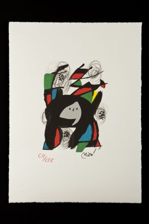 Литография Miró - La mélodie acide VIII