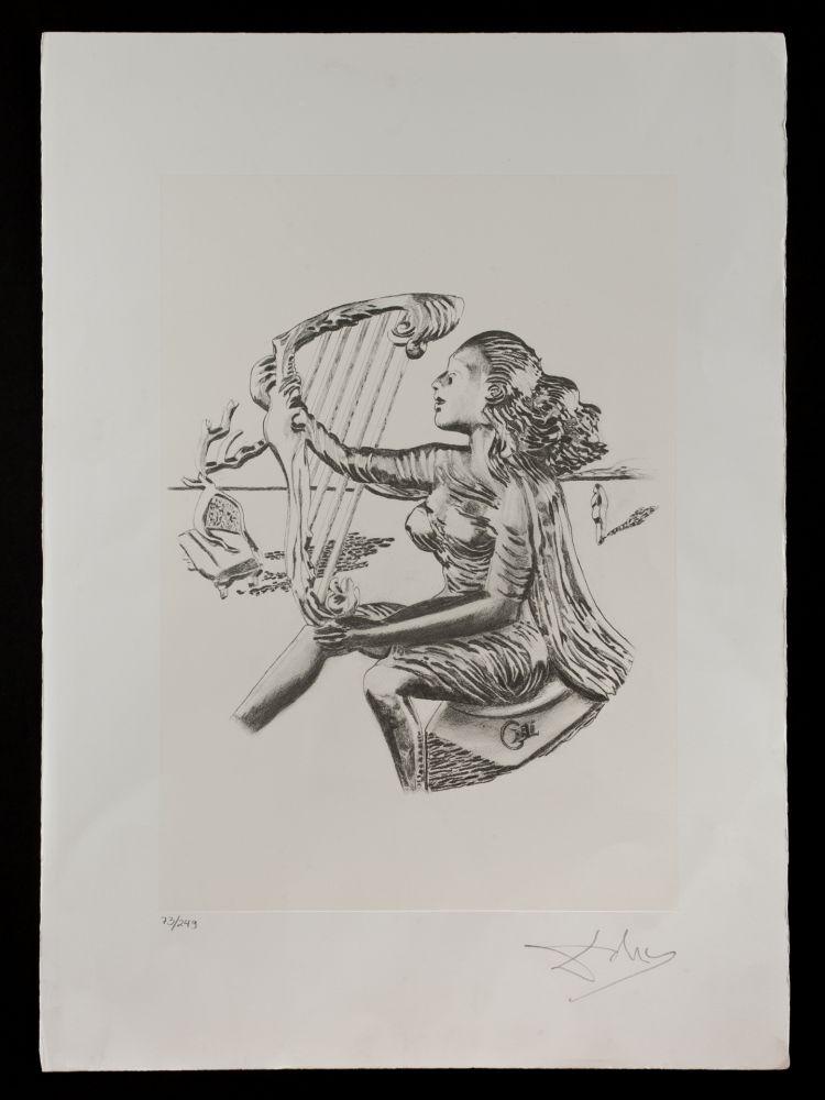 Литография Dali - La música