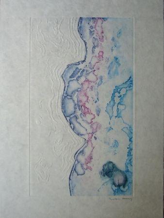 Акватинта Tanning - La marée