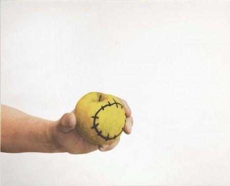 Сериграфия Pistoletto - La mela reintegrata
