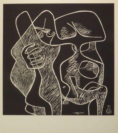 Литография Le Corbusier - La Mer Est Toujours Présente
