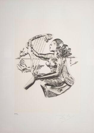Литография Dali - La Musica