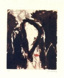 Гравюра Guinovart - La nit