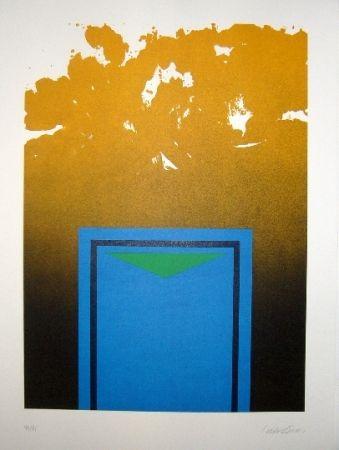 Литография Lopez Osornio - La otra geometria 1
