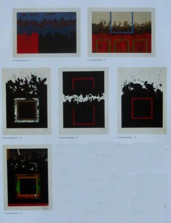 Литография Lopez Osornio - La otra geometria _ 6 lithographs