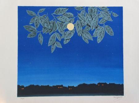 Литография Magritte - La Page Blanche