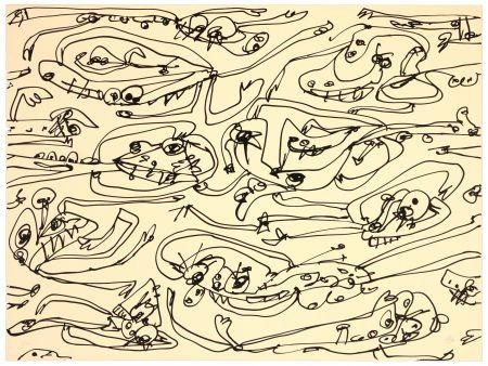 Литография Saura - La paresse