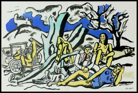 Литография Léger (After) - LA PARTIE DE CAMPAGNE