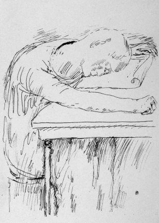 Литография Bonnard - La pausa