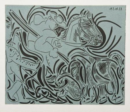Гравюра Picasso - La Pique