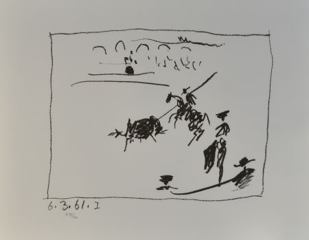 Литография Picasso - La Pique