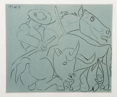 Гравюра Picasso - La Pique cassée