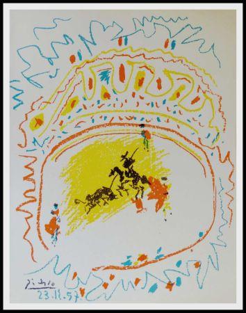 Литография Picasso - La Pique (Corrida)