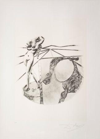 Литография Dali - La Pittura