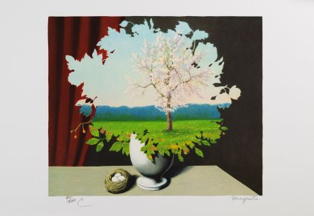 Литография Magritte - La Plagiat