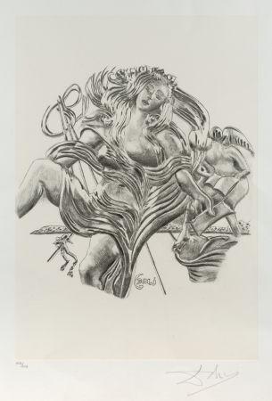 Литография Dali - La poesía