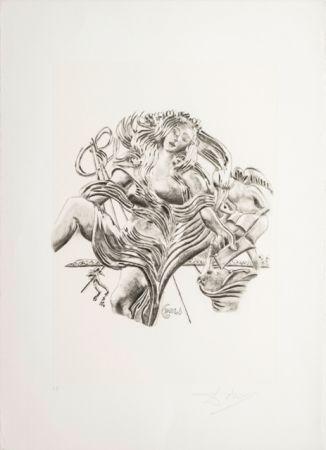 Литография Dali - La Poesia