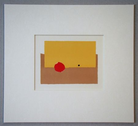 Литография De Stael - La Pomme - 1952