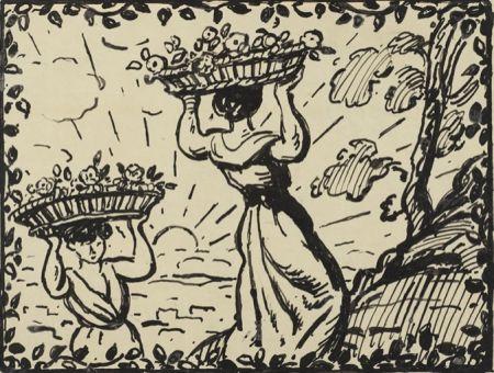 Нет Никаких Технических Espagnat (D') - La récolte des roses circa 1906