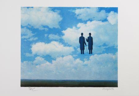 Литография Magritte - La Reconnaissance Infinie (The Infinite Recognition)
