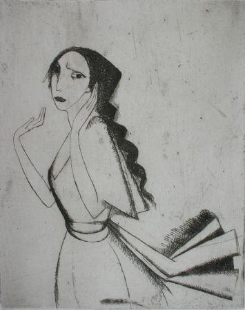 Гравюра Laurencin - La Romance