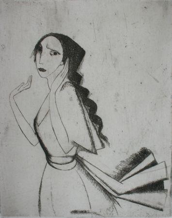 Гравюра Laurencin - La Romanza