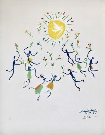 Литография Picasso - La Ronde De La Jeunesse (Edition: 200)
